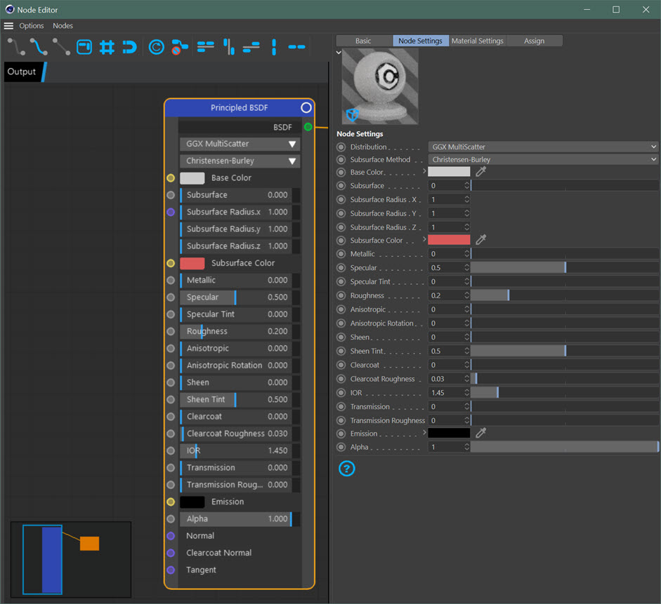 Using the Node Editor